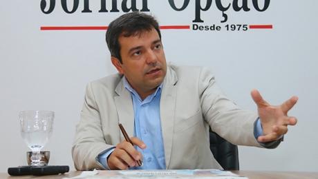 O DEM planeja bancar a reeleição de Vinicius Luz em Jataí