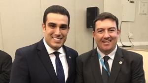 Vitti é eleito para comandar Colegiado Nacional de Presidentes de Assembleias