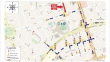 Trânsito do Centro de Goiânia terá desvios nesta terça-feira para partida da Copa Sul-Americana