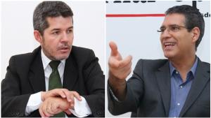 Delegado Waldir e Francisco Júnior polemizam em debate da Rádio Interativa