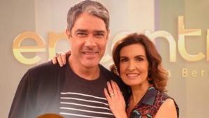 William Bonner e Fátima Bernardes anunciam fim de casamento