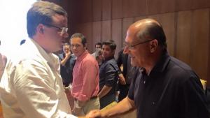 Presidente da Juventude do PSDB goiano se reúne com Alckmin em SP