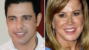 Zezé Di Camargo e ex-mulher brigam em público e não querem que a imprensa divulgue